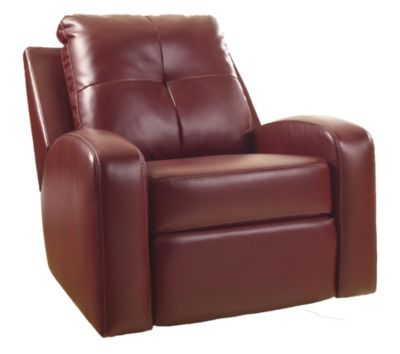 Ashley Mannix Bonded Leather Swivel Glider Recliner