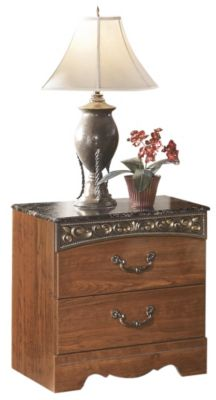 Ashley Fairbrooks Estate 2-Drawer Nightstand