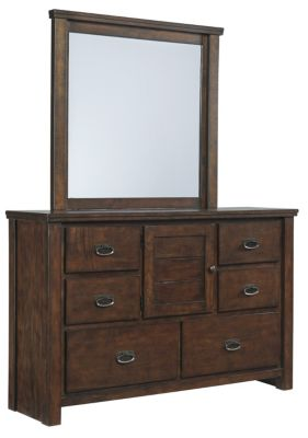 Ashley Ladiville Dresser with Mirror