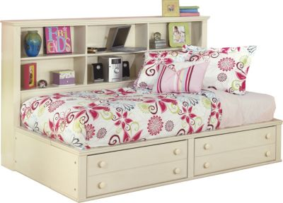 Ashley Cottage Retreat Twin Bookcase Bed