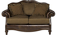 Ashley Claremore Loveseat