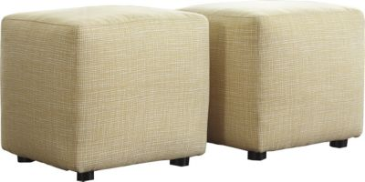 Ashley Chamberly Cube Ottomans (Set of 2)