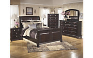 Ashley Ridgley 4-Piece Queen Sleigh Bedroom Set