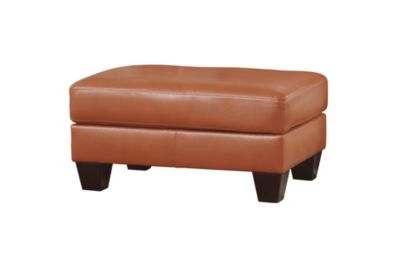 Ashley Paulie Bonded Leather Ottoman