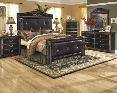 Ashley Coal Creek 4-Piece Queen Bedroom Set