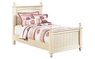 Ashley Cottage Retreat Twin Poster Bed