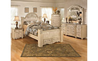 Ashley Saveaha 4-Piece Queen Storage Bedroom Set