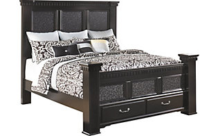 Ashley Cavallino Queen Storage Bed
