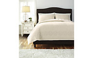 Ashley Stitched 3-Piece Queen Coverlet Set
