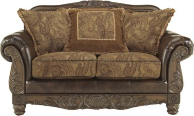 Ashley Fresco Bonded Leather Loveseat