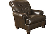 Ashley Fresco Bonded Leather Accent Chair
