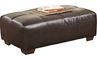 Ashley Fairplay Bonded Leather Oversized Ottoman
