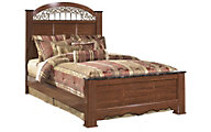 Ashley Fairbrooks Estate Queen Poster Bed