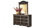 Ashley Coal Creek Dresser with Mirror