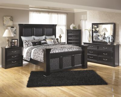 Ashley Cavallino 4-Piece Queen Bedroom Set
