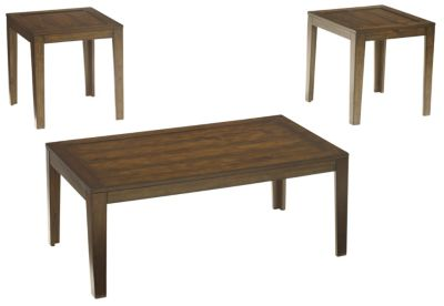 Ashley Hollytyne Coffee Table & 2 End Tables