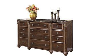 Ashley Gabriela 4 Piece Queen Storage Bedroom Set Homemakers Furniture