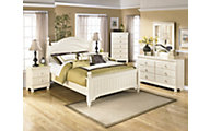 Ashley Cottage Retreat 4-Piece Queen Bedroom Set