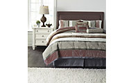 Ashley Jasie 7-Piece Queen Comforter Set