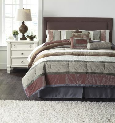 Ashley Jasie 7-Piece King Comforter