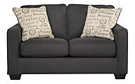 Ashley Alenya Charcoal Loveseat