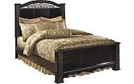 Ashley Constellations King Poster Bed