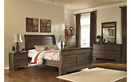 Ashley Allymore 4-Piece Queen Sleigh Bedroom Set