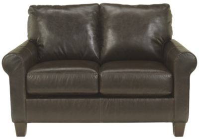 Ashley Nastas Bonded Leather Loveseat
