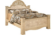 Ashley Saveaha King Poster Bed