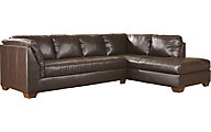 Ashley Fairplay Bonded Leather 2-Piece Sectional