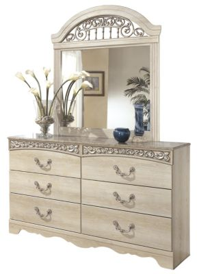 Ashley Catalina Dresser with Mirror