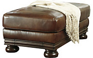 Ashley Hutcherson Leather Ottoman