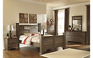 Ashley Allymore 4-Piece Queen Poster Bedroom Set