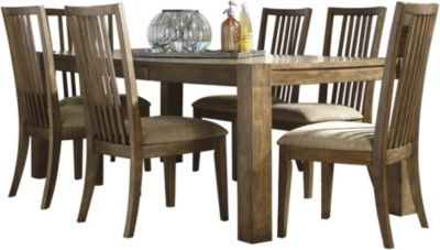 Ashley Birnalla 7-Piece Dining Set