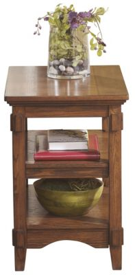 Ashley Cross Island Chairside Table