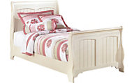 Ashley Cottage Retreat Full Sleigh Bed