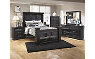 Ashley Cavallino 4-Piece Queen Storage Bedroom Set