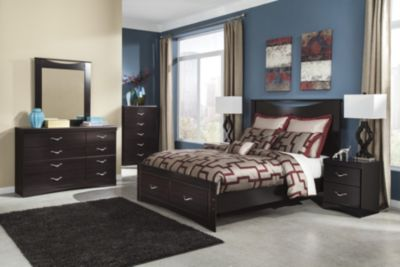 Ashley Zanbury 4-Piece Queen Storage Bedroom Set