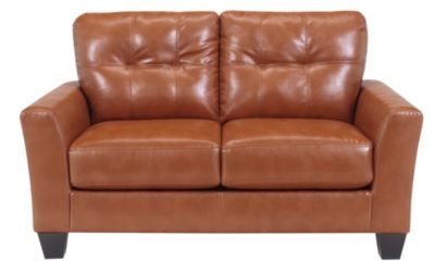 Ashley Paulie Bonded Leather Loveseat