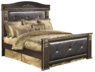 Ashley Coal Creek King Upholstered Bed
