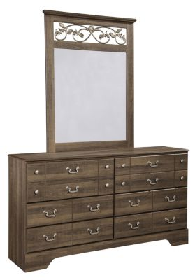 Ashley Allymore Dresser with Mirror