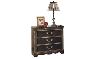 Ashley Coal Creek 3-Drawer Nightstand