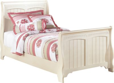 Ashley Cottage Retreat Twin Sleigh Bed