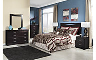 Ashley Zanbury 4-Piece King Headboard Bedroom Set