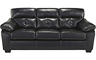 Ashley Bastrop Bonded Leather Full Sleeper