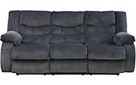 Ashley Garek Blue Reclining Sofa