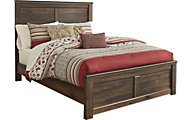 Ashley Quinden Queen Panel Bed