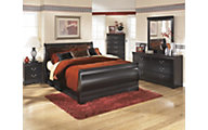 Ashley Huey Vineyard 4-Piece King Bedroom Set