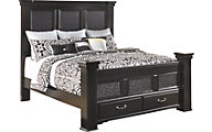 Ashley Cavallino California King Storage Bed