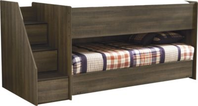 Ashley Juararo Twin Loft with Caster Bed and Step Chest